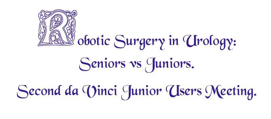 Robotic Surgery in Urology: Seniors vs Juniors.