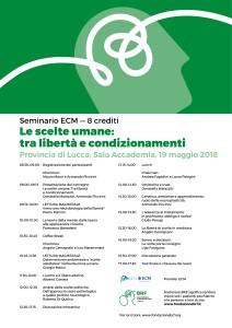 Locandina evento a Lucca